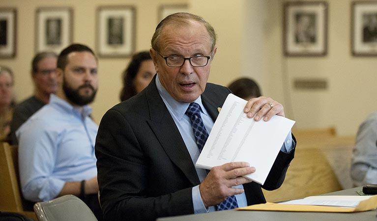 New Jersey Sen Ray Lesniak