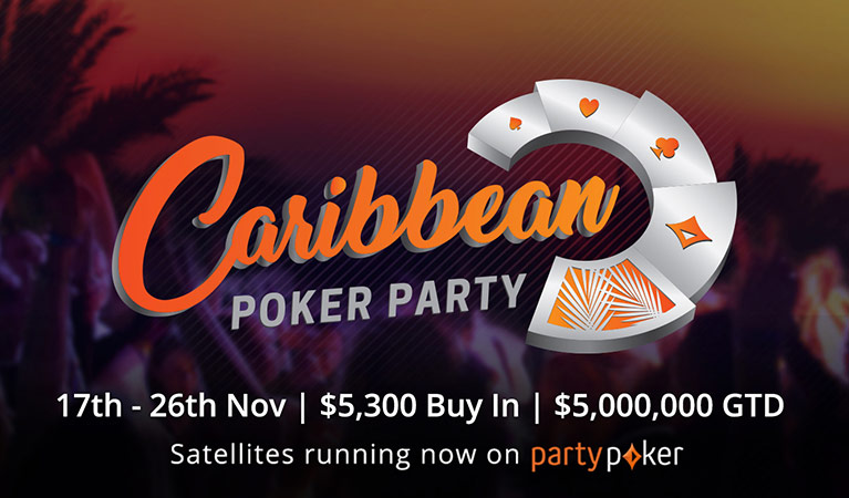 partypoker live caribbean poker party