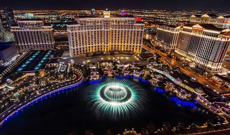 Bellagio Fountains Las Vegas