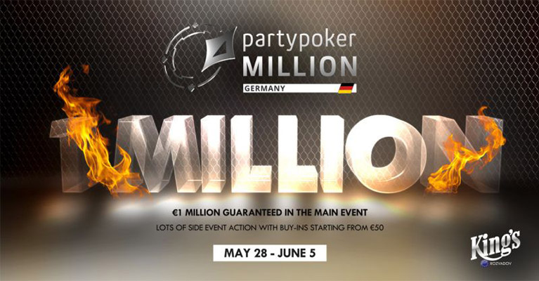partypoker million germany poker