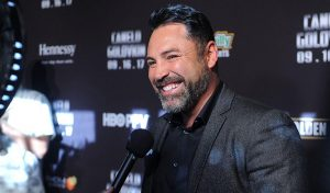 WPFH Seals New Partnership Deal with Oscar De La Hoya