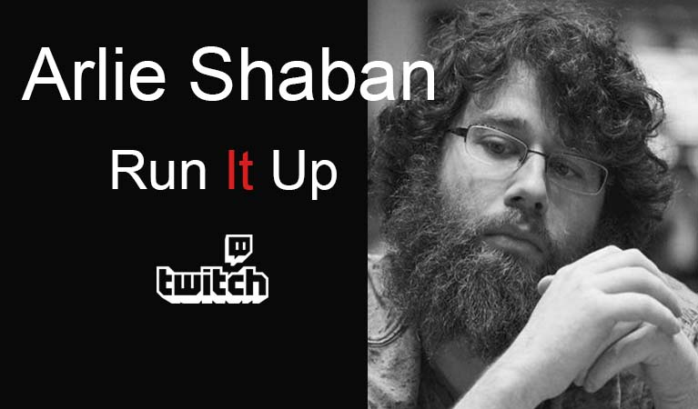 Arlie Shaban is part of Run It Up and Twitch