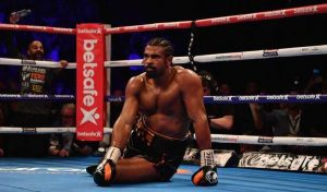 Haye Drops the Gloves, Takes Up Poker