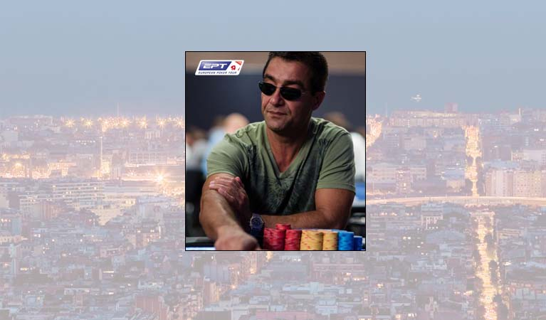 EPT Barcelona and Hossein Ensan pictured
