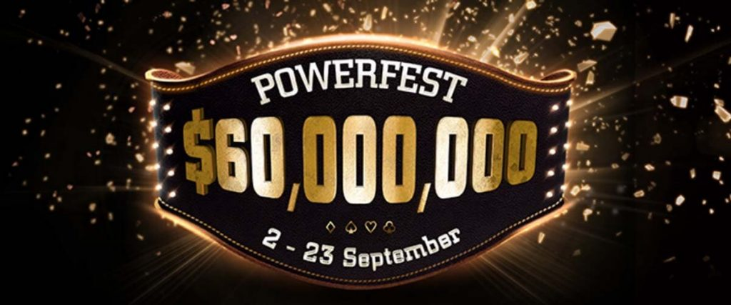 PartyPoker's Powerfest 9th Edition Official Logo