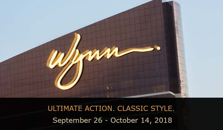 Wynn Resort in Las Vegas where the Fall Poker Tournament takes place