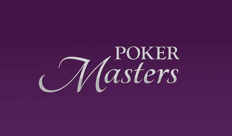Poker Master's events logo.