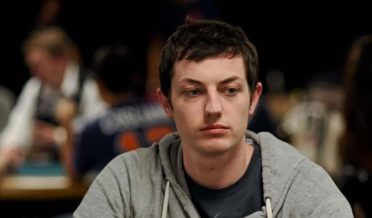 Tom Dwan at a table of poker.