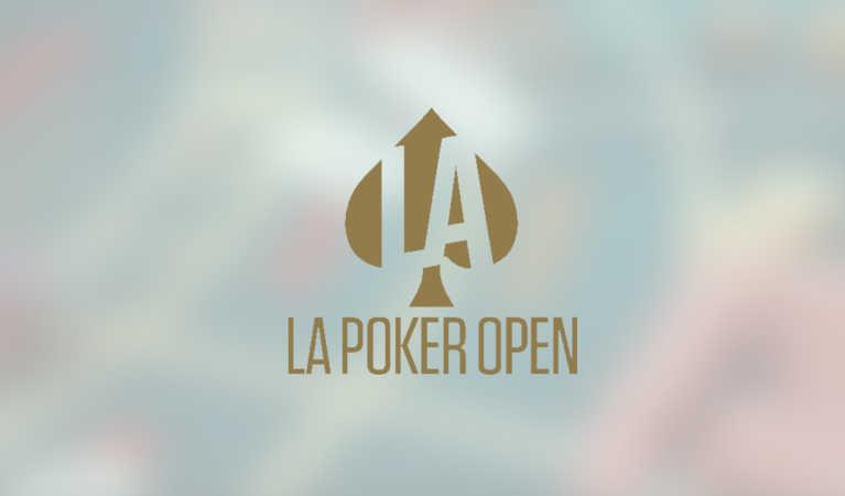 LA Open's logo and venue.