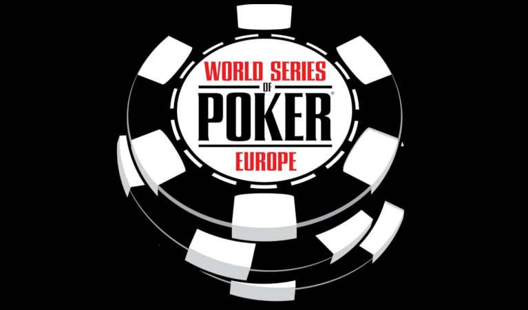 WSOP Europe tournament logo.