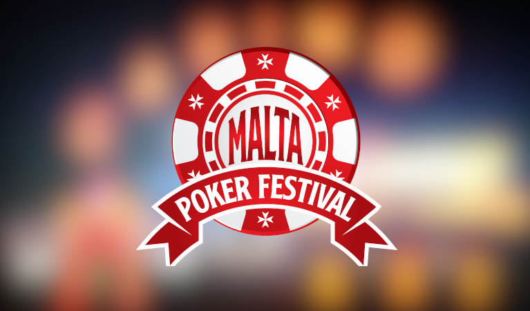 Malta Poker Festival official logo.