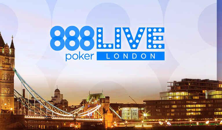 The London poker festival's logo.