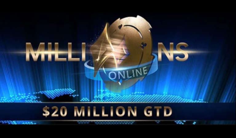 Online partypoker tournaments.