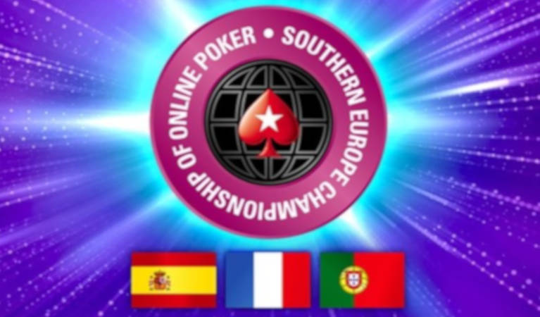 SECOOP poker tournament logo and countries.