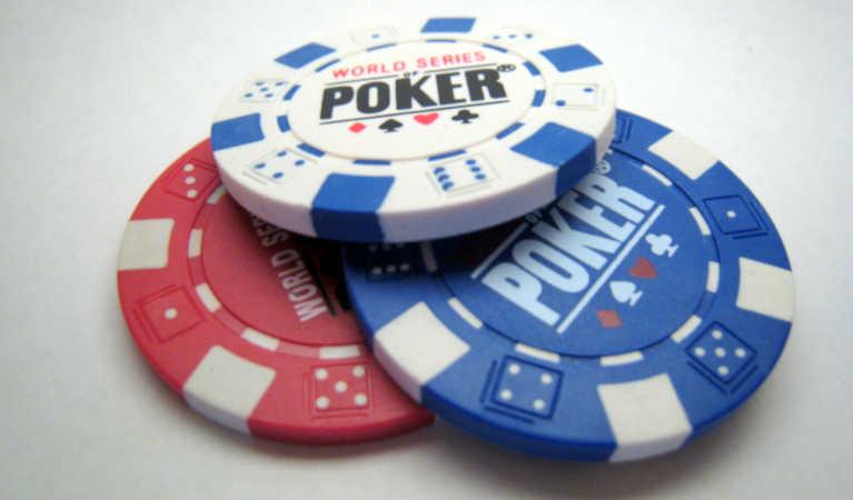 WSOP Series of Poker chips