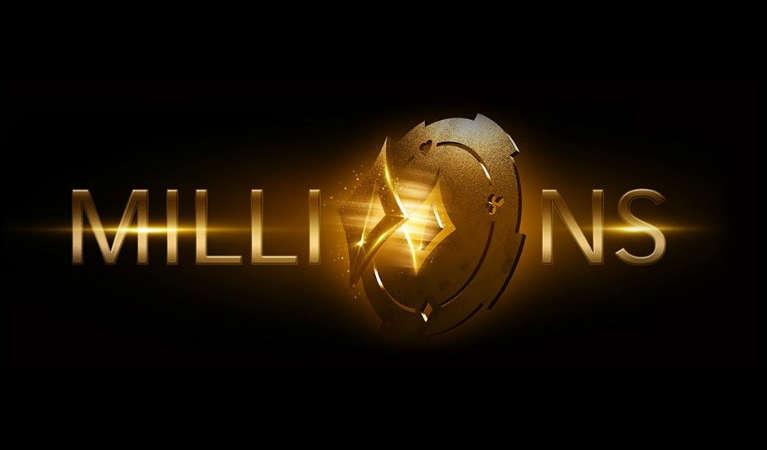 Partypoker's Millions' logo.