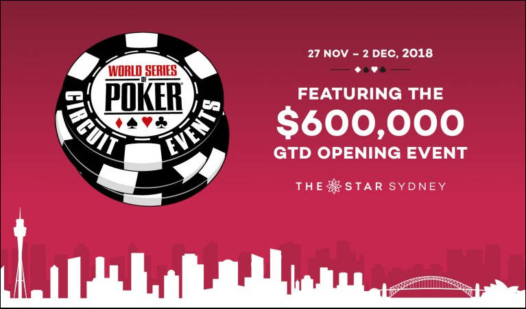 Opening Event at Sydney, WSOPC