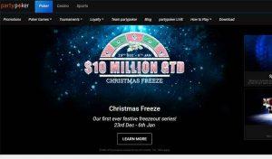 """Partypoker Announces Last Minute """"Christmas Freeze"""" Series"""