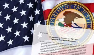 US Department of Justice Reverses Opinion on Online Gambling