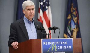 Outgoing Michigan Governor Vetoes Online Gaming, Poker Bill