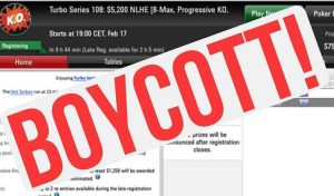 PokerStars $5,200 Turbo Series A Success Despite Boycott