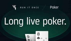 Run It Once Poker Finally Announces Official Launch Date