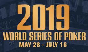 2019 WSOP Announces Nine Online Bracelet Events