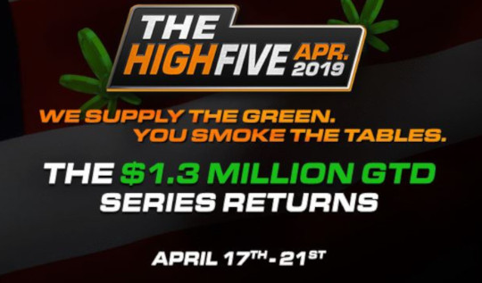 High Five Tournament at Americas Cardroom