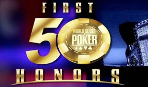 WSOP Announces Special 'First Fifty Honors' Dinner
