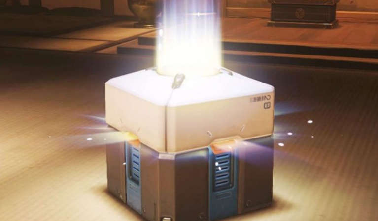 A Loot Box in a video game