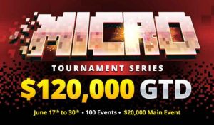 BetOnline Poker Announces 100-Event Micro Tournament Series