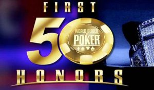 Players Awarded at the WSOP First Fifty Honors Gala