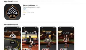 Apple's Texas Hold'em Returns to the App Store