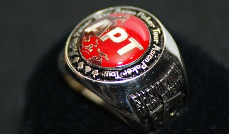 Asian poker Tour's official ring.