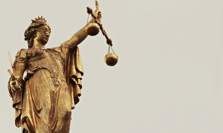 lady justice holding her scales