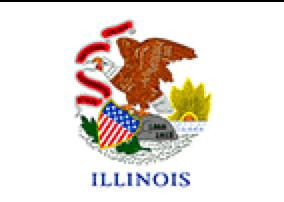 Illinois State Flag