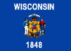 Wisconsin State Flag