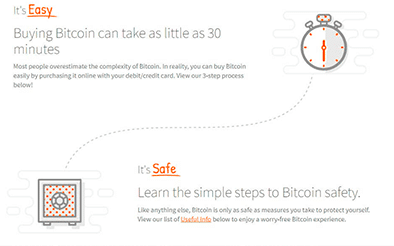 ignition's bitcoin step by step guide