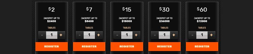 registration for ignition's poker jackpot games