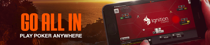 ignition poker available for smartphone - play poker anywhere