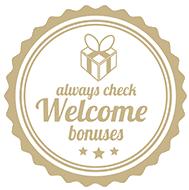 remember to check welcome bonuses