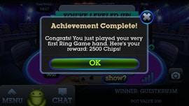 Fresh Deck Poker mobile app game screen