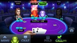 Fresh Deck Poker mobile app achievement complete screen