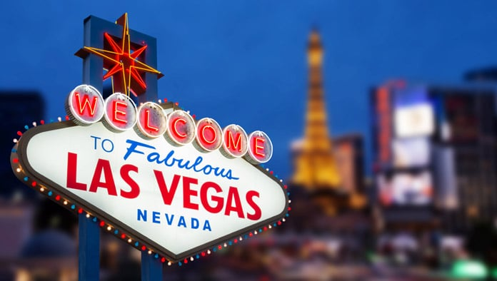 official las vegas welcome sign
