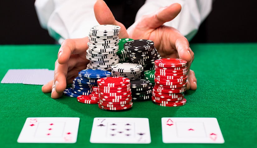the objective of poker