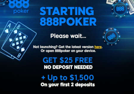 888 Poker New Jersey Loading Up