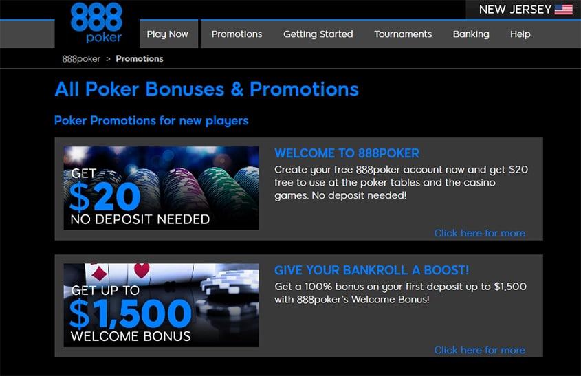 Free Bonus No Deposit Poker Sites