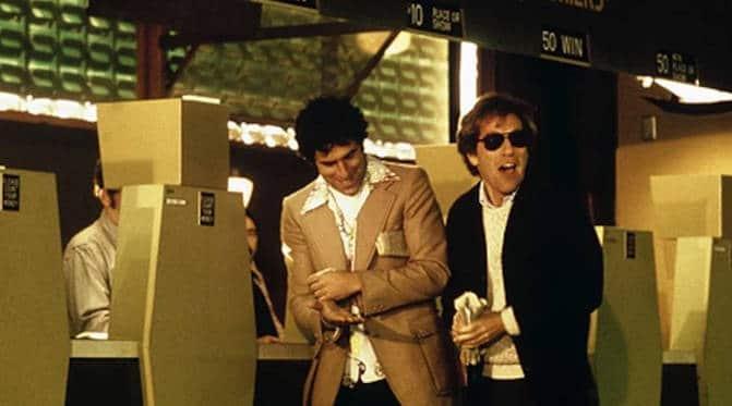 George Segal and Elliot Gould in California Split.