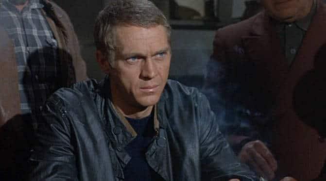 Steve McQueen in the Cincinnati Kid.