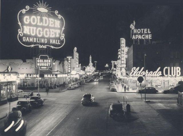 Las Vegas shapes up as a gambling hub.